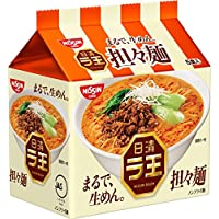 日清 ラ王 担々麺 5食パック 97g