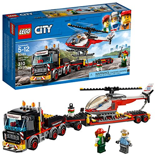 LEGO City Great Vehicles HeavyカーゴTransport 60183建物キット310ピース