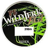 ゴーセン(GOSEN) ライン PE WILD JERK EGI 210m 0.5号 GS02105