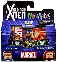 Marvel Minimates All New X-Men Series 59 Mini Figure 2-Pack Cyclops & Marvel Girl [並行輸入品]