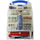 TD2451 110 Piece 12V Rotary Tool Kit Drill Sand Polish Carve Grind - 9319236957066