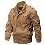 LOOKATOOL-clothes Men's Clothing Jacket Coat Military Clothing Tactical Outwear Breathable Coat, Men's Cotton...
