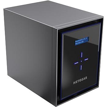 【Eコマース限定モデル】 NETGEAR ReadyNAS 426 3年保証 デスクトップ6ベイ ディスクレスモデル RN42600-100AJS (1000BASE-T × 4)