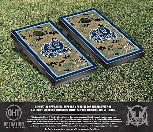 Operation Hat Trick Old Dominion Monarchs Cornhole Game Set Border Version [並行輸入品]