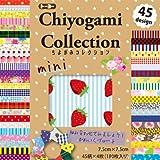 トーヨー 折り紙 ちよがみコレクション 7.5cm角 45柄 180枚入 018055