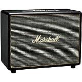 Marshall Woburn Bluetooth Speaker, Big and Powerful Wireless Loudspeaker with Customisable Sound, Black