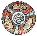 波佐見焼 林九郎窯 絢爛 古伊万里風 小皿 三方元禄地紋 009069-550