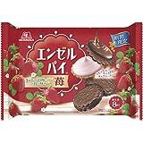 森永製菓 エンゼルパイ<苺>大袋 8個 ×12個