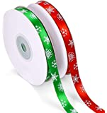 【2020冬最新・☆MerryXmas☆】クリスマス リボンテープ 緑&赤 ラッピング オーナメント プレゼント包装 X…