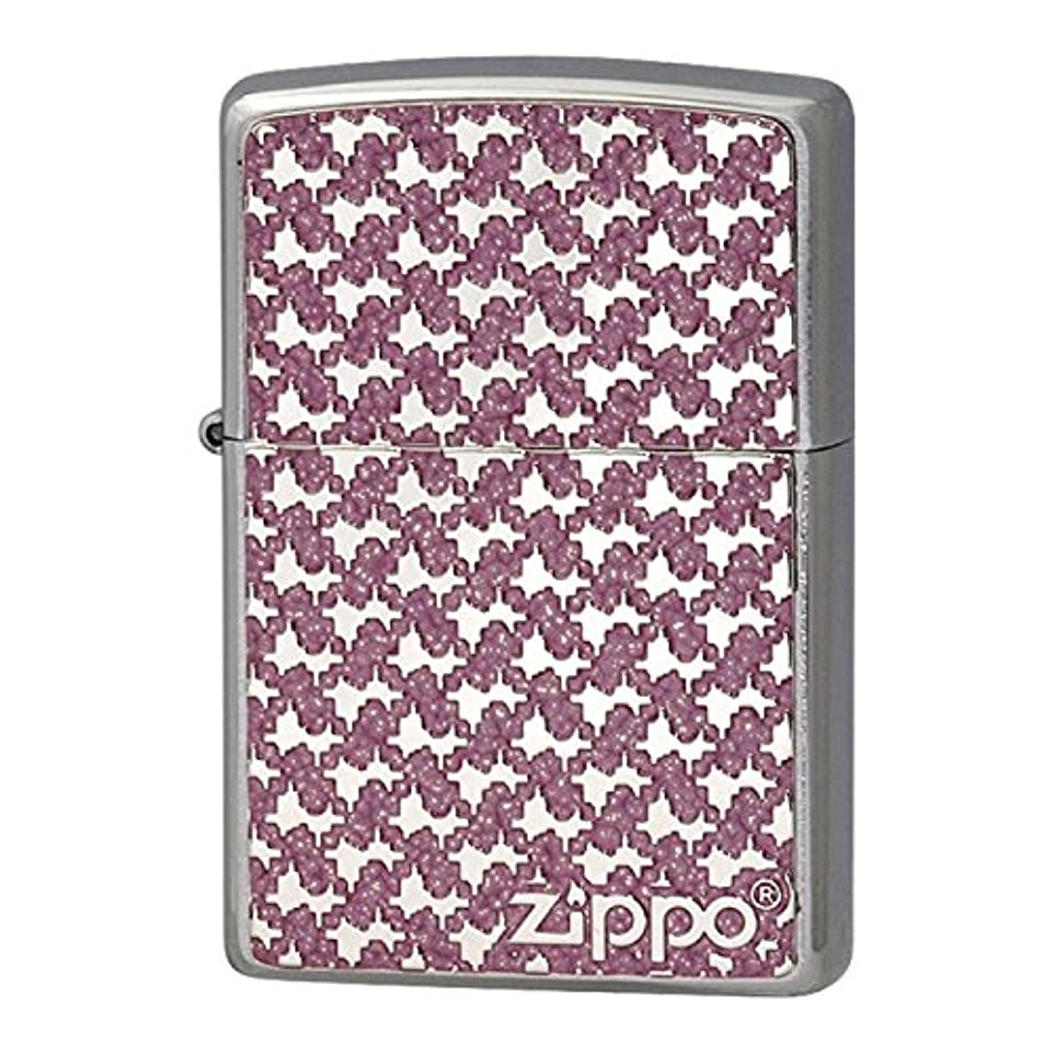 目を覚ます保証金同情的Zippo ジッポー Zippoライター ジッポライター オイルライター 200 フラットボトム メタルペイントプレート パターン 2MPP-Pattern(PK)