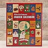 カルディオリジナル クリスマス消しゴムカレンダー