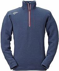 フリーノット(FREE KNOT) 光電子 レイヤーテックジップアップシャツ シープバック超厚手 L ネイビー Y1631-L-80