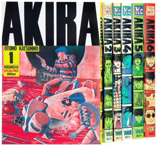 AKIRA コミック 全6巻完結セット (KCデラックス)の詳細を見る