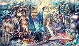 ラバープレイマット 【7つの大罪:怠惰】Everlasting bird cage ヘレナ【イラスト:おにねこ】
