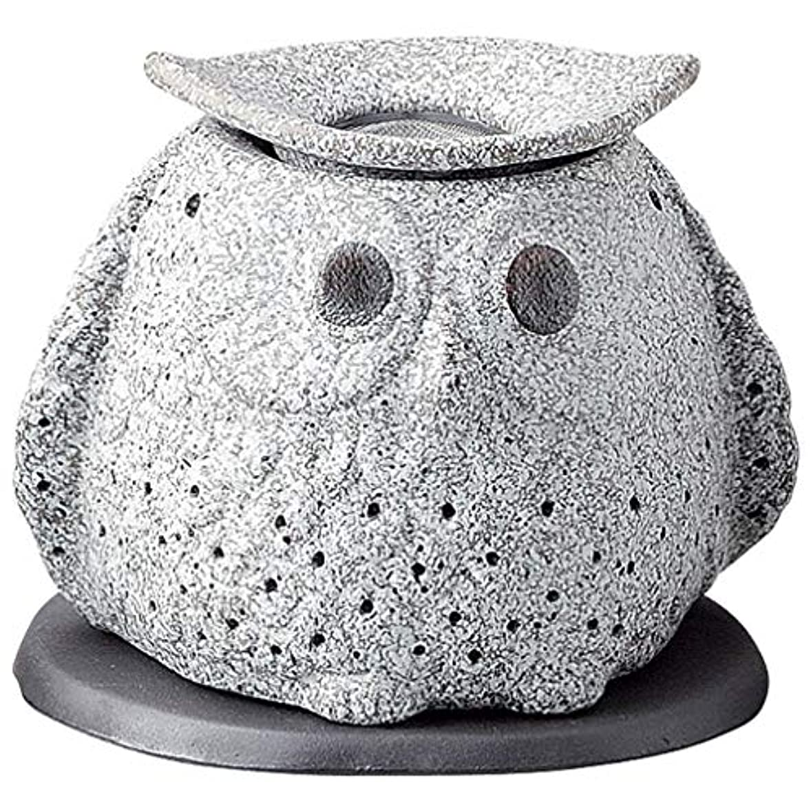 夜明け小麦粉印象的常滑焼 G1723 茶香炉  16×12×15cm