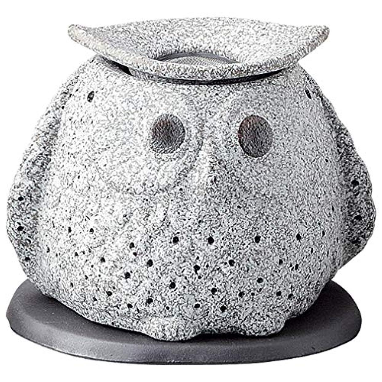 認知端れんが常滑焼 G1723 茶香炉  16×12×15cm