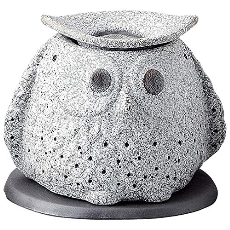 学習人質喜ぶ常滑焼 G1723 茶香炉  16×12×15cm