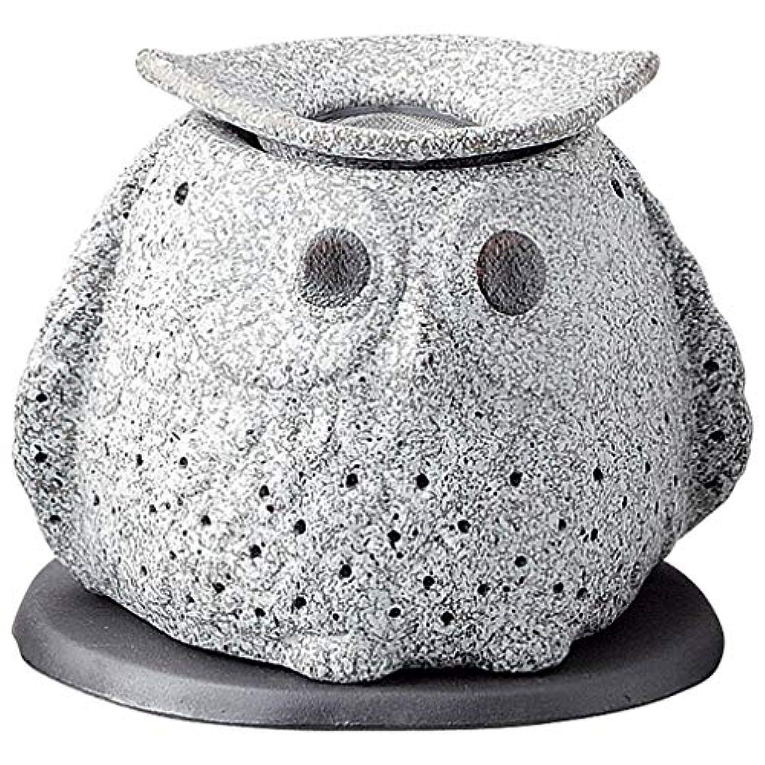 共役ルール彫る常滑焼 G1723 茶香炉  16×12×15cm