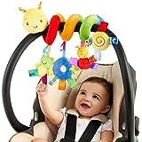 Pichidr-JP ベビーベッド ぶら下げおもちゃ ベビー ハンギング メリー 赤ちゃん ジム ベビーカー ベビー用おもちゃ ガラガラ 知育玩具 プレゼント 発育促進 寝かしつけ 可愛い ぬいぐるみ