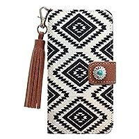 スマホケース Bales(バルス) Native & Conch(ネイティブ&コンチョ) Design Case Season 1 TYPE-F (iPhone 7/8) 手帳型 スマートフォン ケース ネイティブ柄 ケース カードスロットル付 スタンド機能 ファッション お洒落