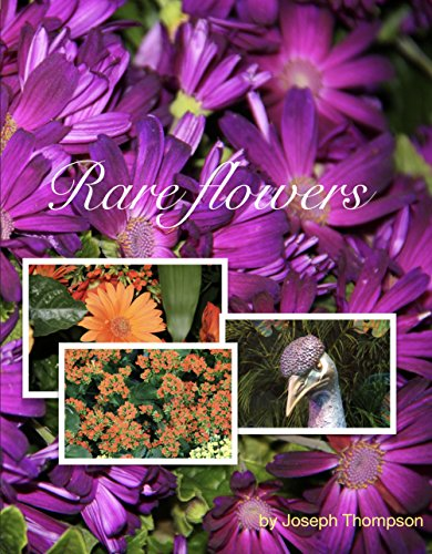 Rare Flowers: Beautiful Rare Flowers this phonebook will blow you away. (English Edition)