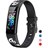 Mgaolo Slim Fitness Tracker for Kids Women,IP68 Waterproof Activity Tracker with Blood Pressure Heart Rate Sleep Monitor,11 S