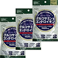 ISDG グルコサミン & コンドロイチン (240粒30日分) 3袋セット