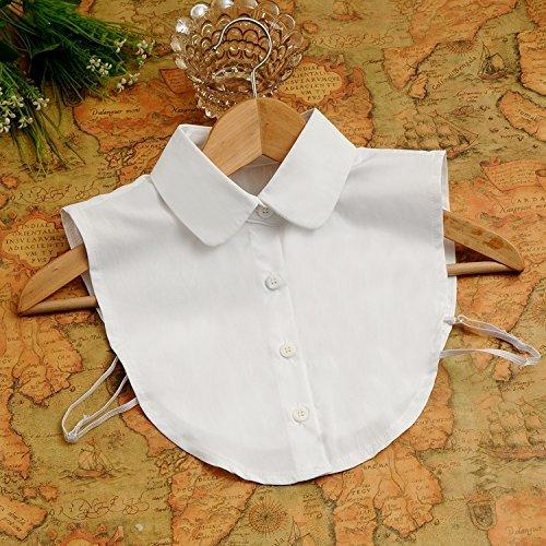 【XHS】シャツ付け襟 偽襟 えり 丸襟 簡単 変身 重ね着...