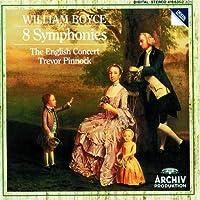 Boyce: 8 Symphonies (Nos 1-8) /Pinnock by William Boyce (1987-05-05)