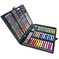 AUDIOMETRY Coloring Pens & Markers Inspiration Art Case 150 Piece Deluxe Art Set for Kids and Adults. 【You&Me】 [並行輸入品]