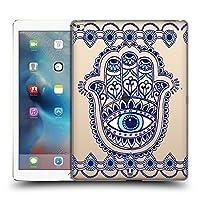 Head Case Designs ハムサ ブルーアイ・パターンズ iPad Pro 12.9 (2015) 専用ハードバックケース