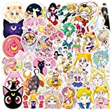 Sailor Moon Stickers, 100pcs