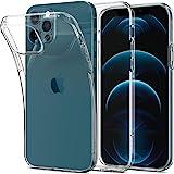 Spigen iPhone12 ケース iPhone12Pro ケース 6.1インチ MagSafe 対応 ケース クリアケース TPUカバー 全面クリア 超薄型 超軽量 アイフォン12 ケース アイフォン12プロケース シュピゲン リキッド・クリス