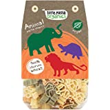 Little Pasta Organic Animal Shaped Pasta, Spinach and Tomato, 250g