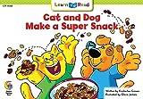 Cat and Dog Make a Super Snack