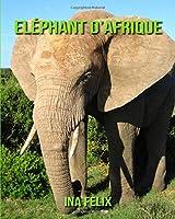 Eléphant D'afrique: Le Livre Des Informations Amusantes Pour Enfant & Incroyables Photos D'animaux Sauvages