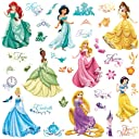 RoomMates rmk2199scsディズニープリンセスRoyal Debut Peel and Stick Wall Decals
