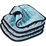 Griots Garage 55582 PFM Dual Weave Glass Towel, Set of 4