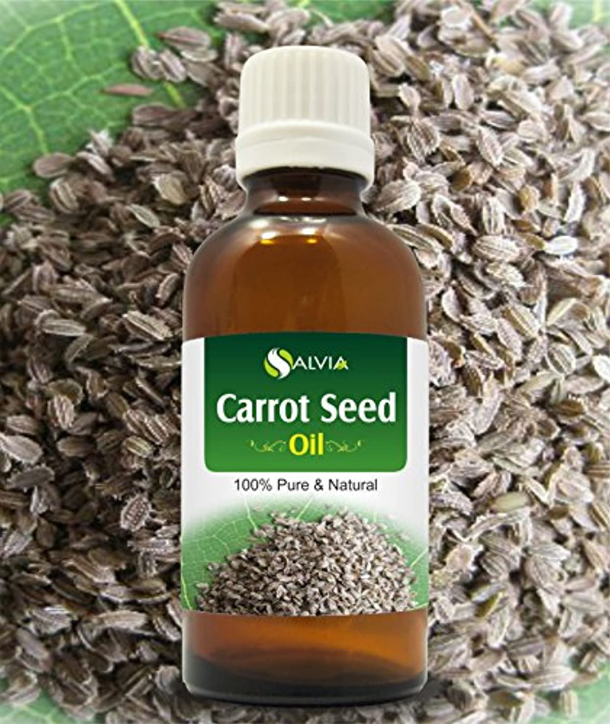役割中級ロゴCARROT SEED OIL 100% NATURAL PURE UNDILUTED UNCUT ESSENTIAL OILS 50ML