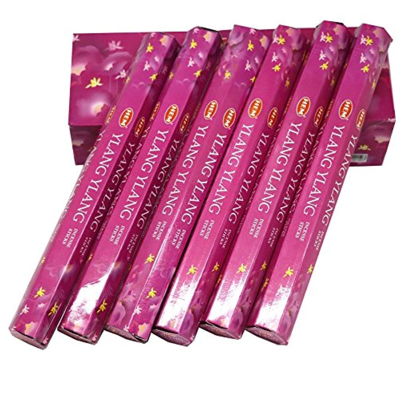 不均一減るプレゼンHEM社 インド製 ステックタイプ香 1箱20本入 (イランイラン)