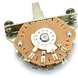 Oak Grigsby 5-way Blade Switch w/ Mounting Screws