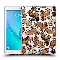 Head Case Designs レオンベルガー ドッグブリード・パターン 11 ソフトジェルケース Samsung Galaxy Tab A 9.7