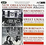 HUMPHREY - NEW ORLEANS: 1961 THE LIVING LEGENDS - FOUR CLASSIC ALBUMS
