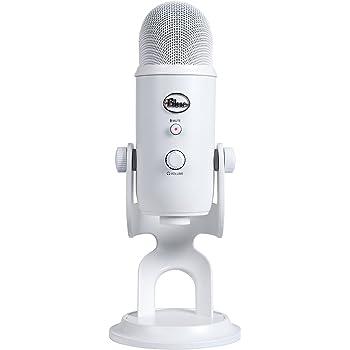 Blue Microphones Yeti USBマイク【日本正規代理店品・メーカー保証2年】ホワイト指向性4モード