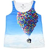Disney Up Women's Balloon Lift Sublimation Plus Size Tank Top