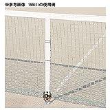 asics アシックス(asics) テニスネット・器具用品 センターストラップS金具 15111SF