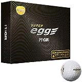 PRGR(プロギア) ゴルフボール Super egg ボール Super egg NON-CFM 12PC NON-CFM 12PC ホワイト
