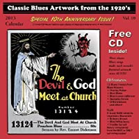 Classic Blues Artwork from the 1920's: 2013 Calendar (+CD) by Various Artists