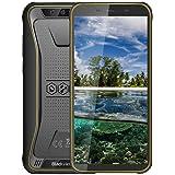 Blackview BV5500Pro スマートフォン 本体 Simフリー 4Gスマホ本体 Android9.0Pie 5.5インチ 5MP+8MP 3GB+16GB 4400mAh 防水/防塵/耐衝撃 タフスマホ 技適認証済み 携帯電話 1年間保証付き イエロー