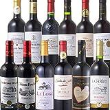 王道 ボルドー 金賞受賞 赤ワイン 飲み比べ セット(750ml×12本)